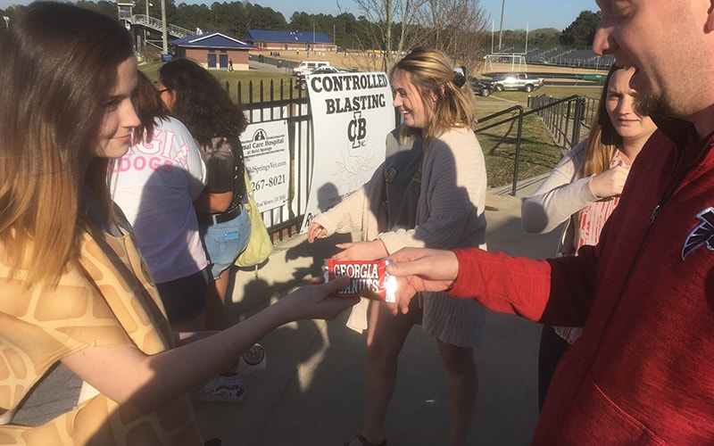 FFA Chapter Takes Ag Out to the Ballgame
