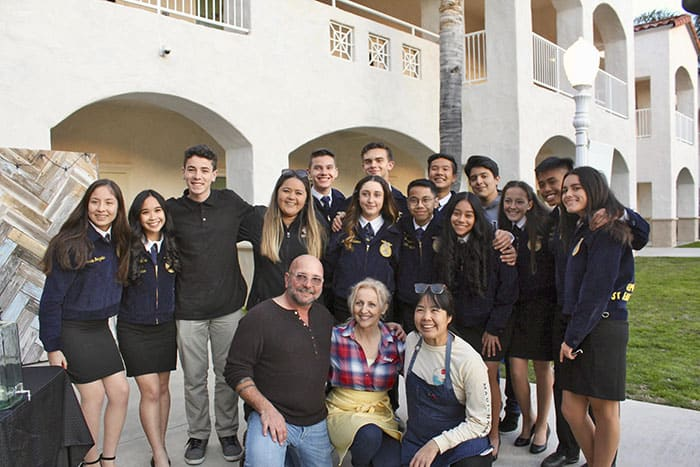 FFA Members in California Make a Global Impact