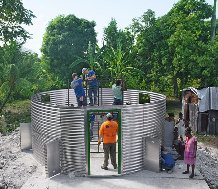 FFA Members Help in Haiti