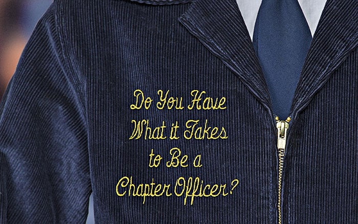 How to Become a Chapter Officer