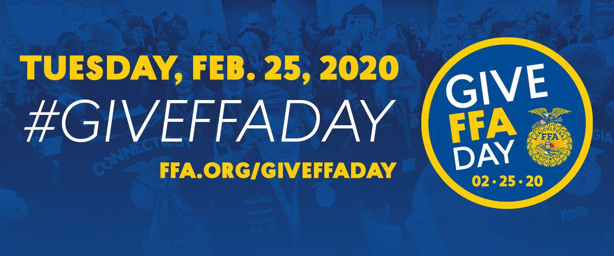 Give FFA Day 2020 Facebook Cover Photo