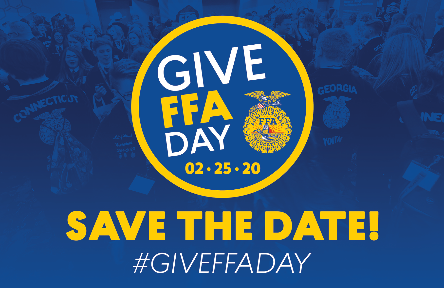 Save the Date! Give FFA Day is Feb. 25, 2020