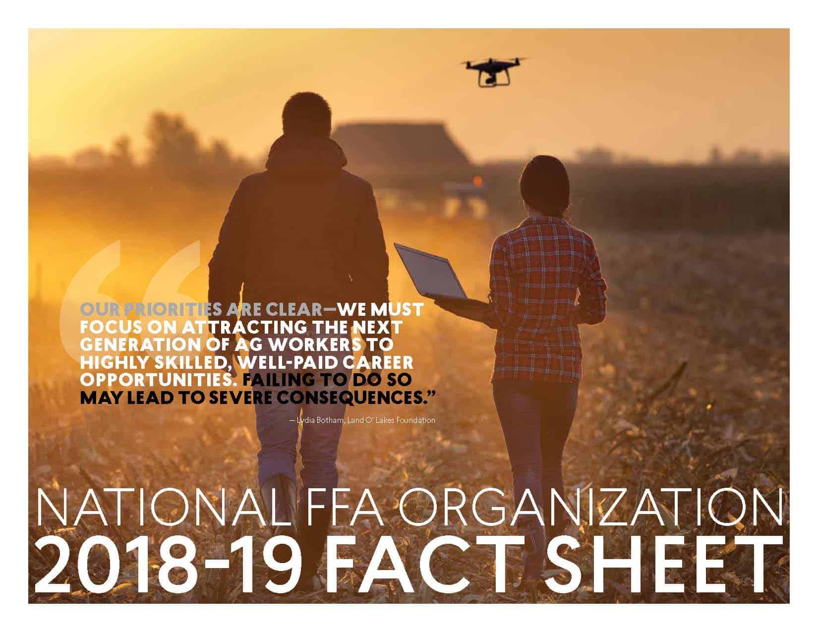 FFA 2019 Fact Sheet Cover