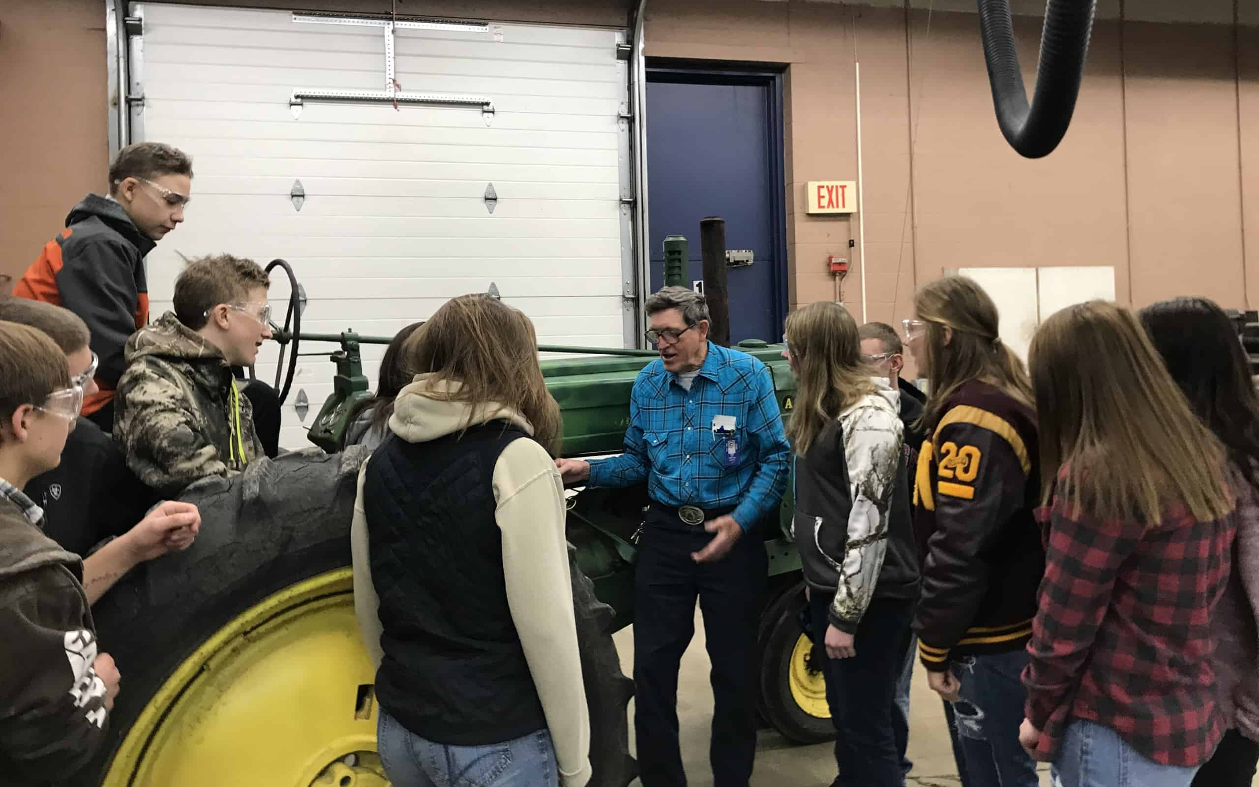 FFA Advisor Celebrates 50 Years in the Classroom