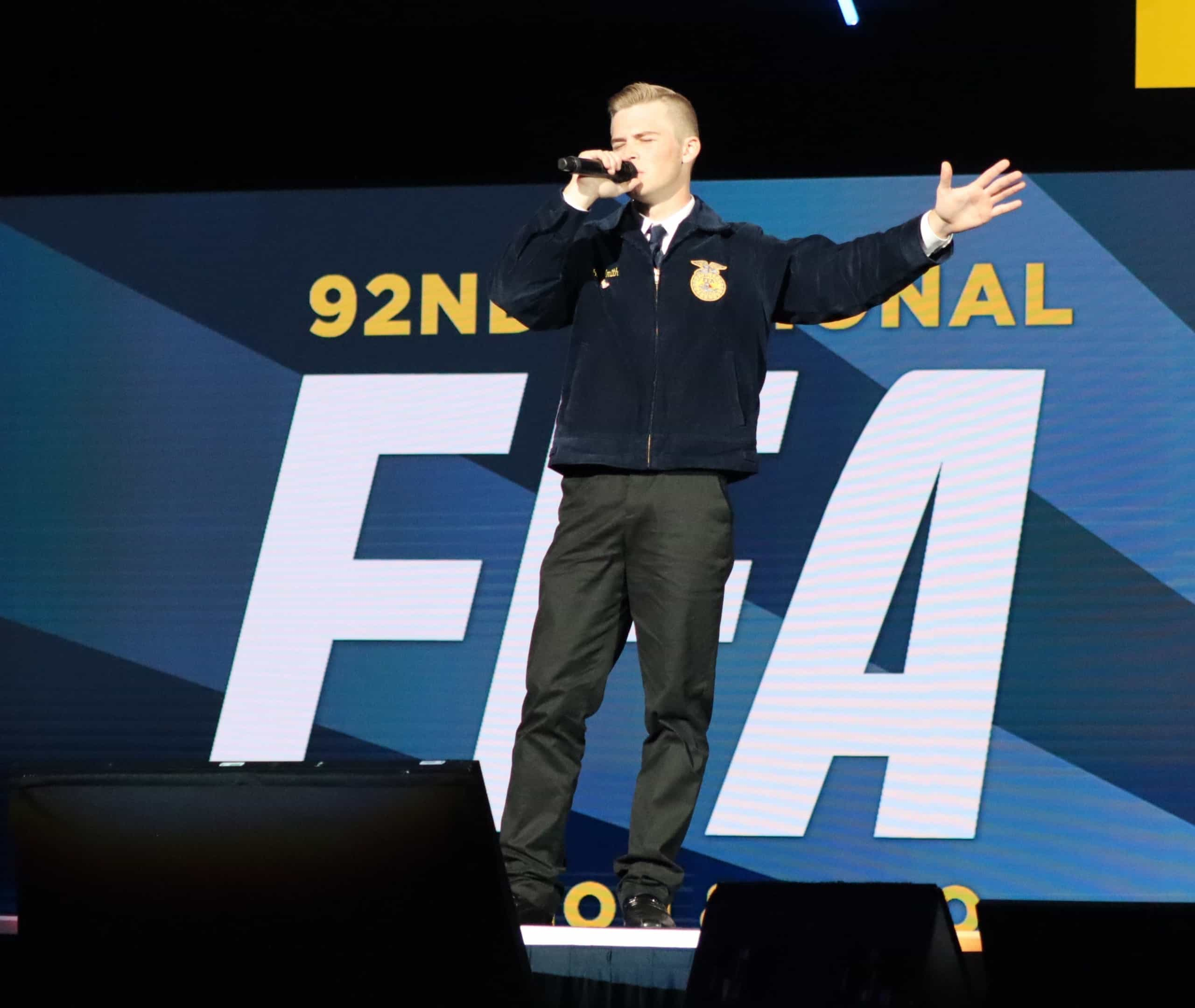Kentucky Member Performs FFA-Inspired Song