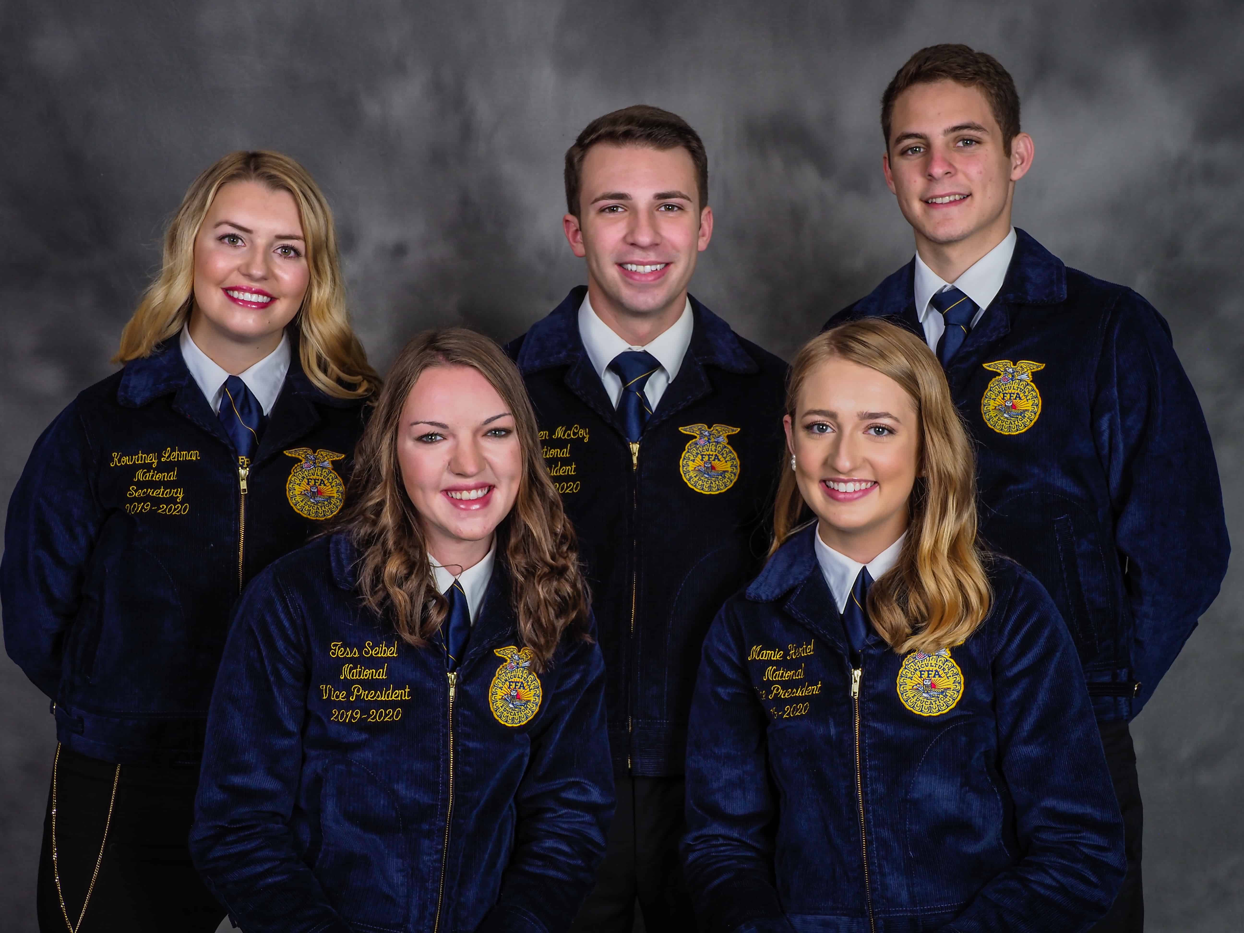 National Officers: FFA Service