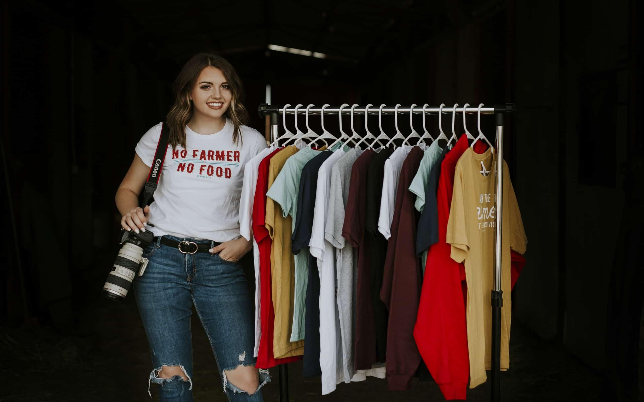 FFA Project Inspires Farm-Focused Fashion Line