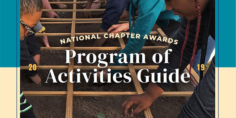 Program of Activities cover