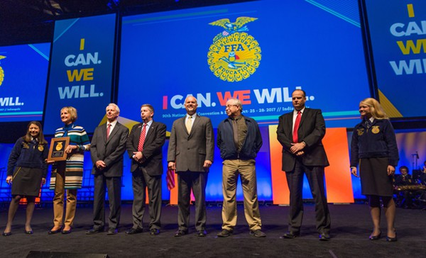 93rd National FFA Convention & Expo - Distinguished Service Citation