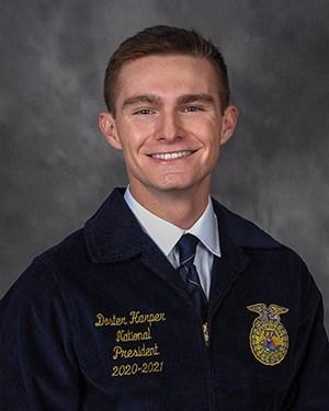 Doster Harper, 2020-21 National FFA Officer Team, President