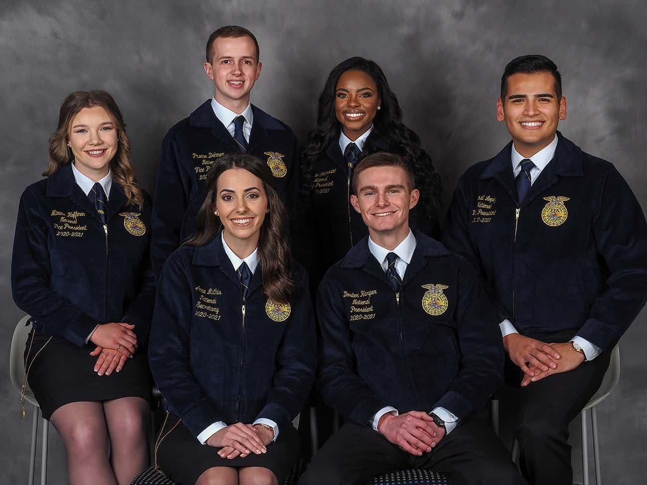 Portrait of 2019-20 National FFA Officer Team