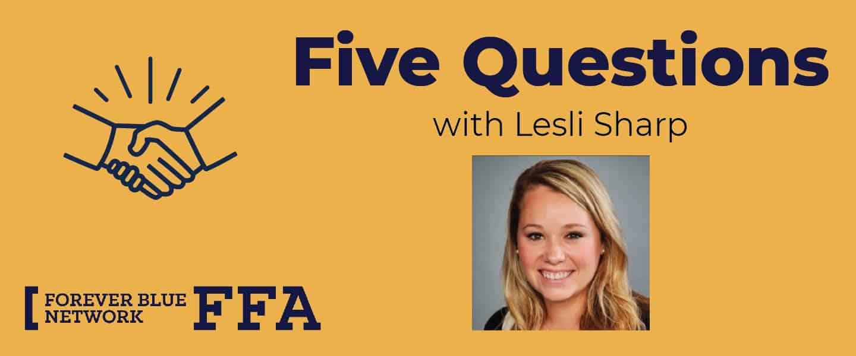 5 Questions With FFA Alumna Lesli Sharp